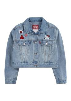 Levi's Hello Kitty Denim Trucker Jacket (Little Girls)