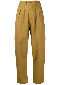 Levi's high-rise cropped trousers