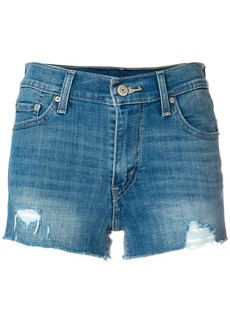 Levi's high rise denim shorts