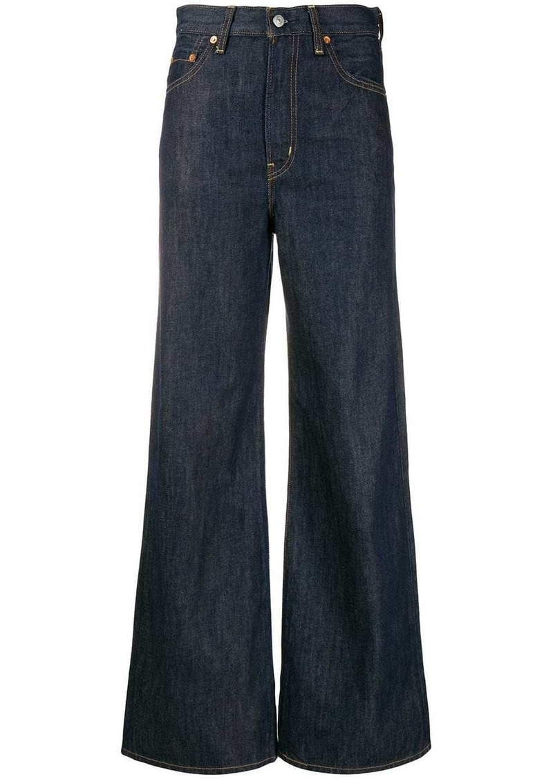 Levi's high rise flared jeans