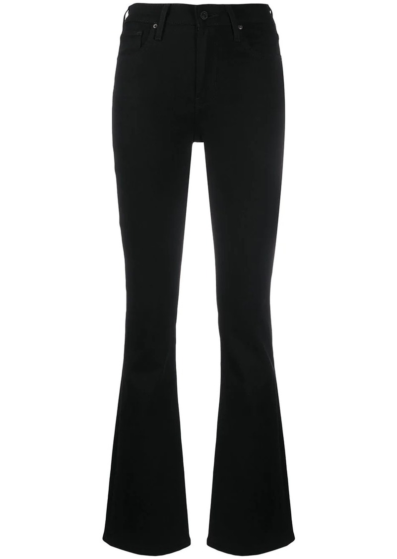 Levi's high-rise flared jeans