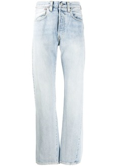 Levi's high-rise straight leg jeans