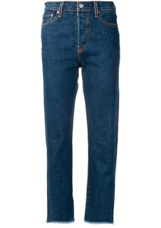 Levi's high-waist jeans
