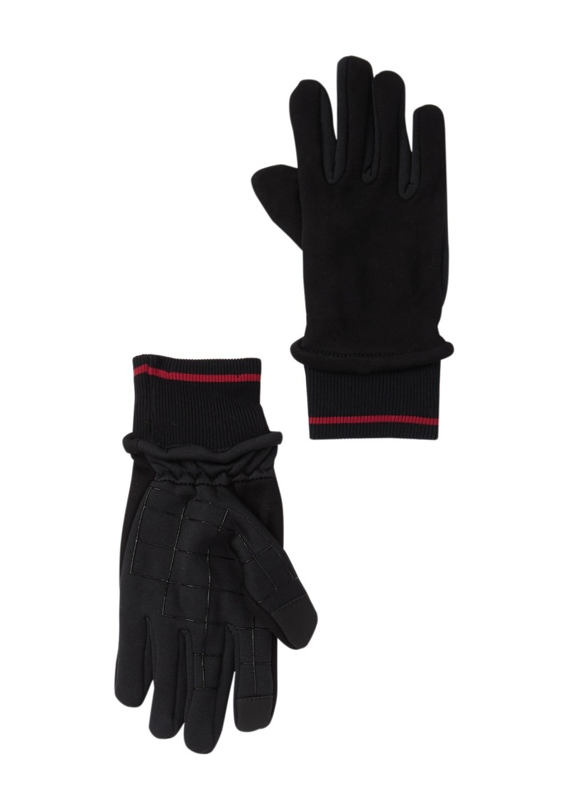 Levi's Jersey Fleece Mixed Media Gloves