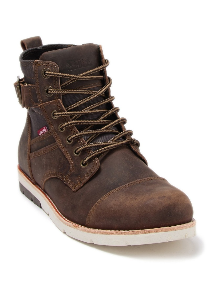 Levi's Leather Lace Up Boot