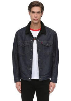 Levi's Lej Sherpa Tracker Cotton Blend Jacket