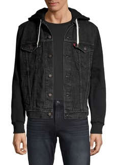 Levi's Hybrid Hooded Denim Jacket