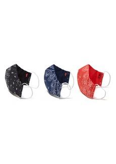 Levi's Levi®'s 3-Pack Reversible Adult Face Masks