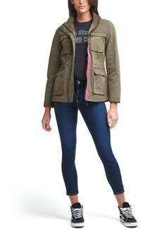 Levi's 4-Pocket Contrast-Trim Military Jacket