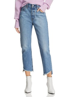 Levi's 501 Ankle Straight Jeans in Call Me Crazy