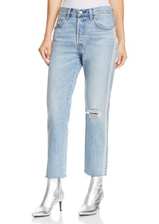 Levi's 501 Ankle Straight Jeans in Diamond In The Rough