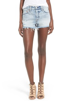 Levi's® '501®' Cutoff Denim Shorts (Waveline)
