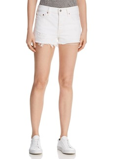 Levi's 501 Denim Shorts in Super Sonic