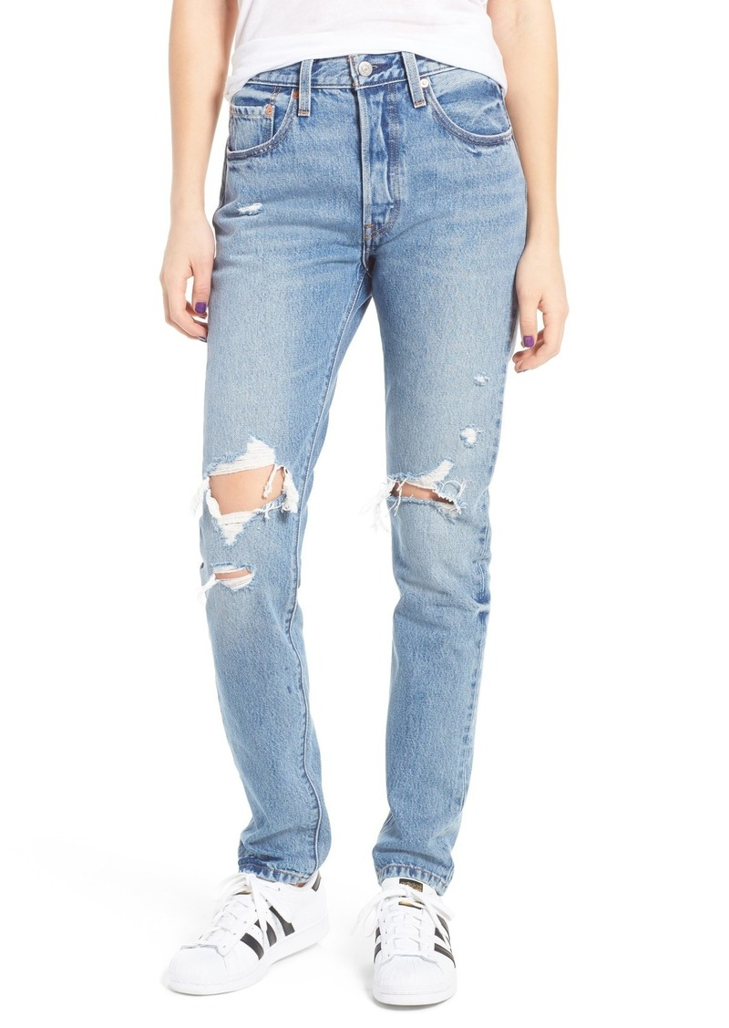 48bb6aeb Levi's Levis® 501 Ripped Skinny Jeans (Old Hangouts) | Denim