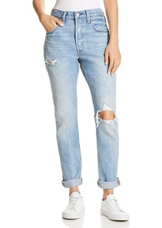 Levi's 501 Destruct Slim Jeans in Can't Touch This