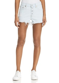 Levi's 501 Distressed Denim Shorts in Better Love