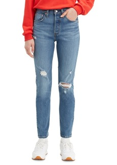 Levi's Women's 501 Distressed Skinny Jeans