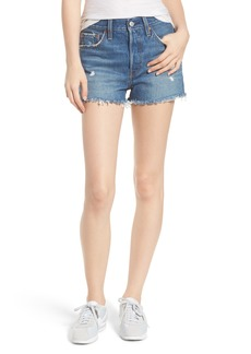 Levi's® 501® High Waist Cutoff Denim Shorts (Drive Me Crazy)