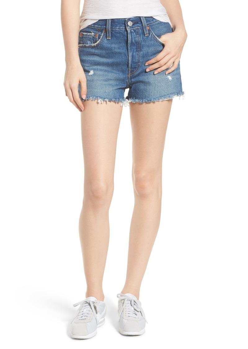 bafaf99a80f Levi s Levi s® 501® High Waist Cutoff Denim Shorts (Drive Me Crazy ...