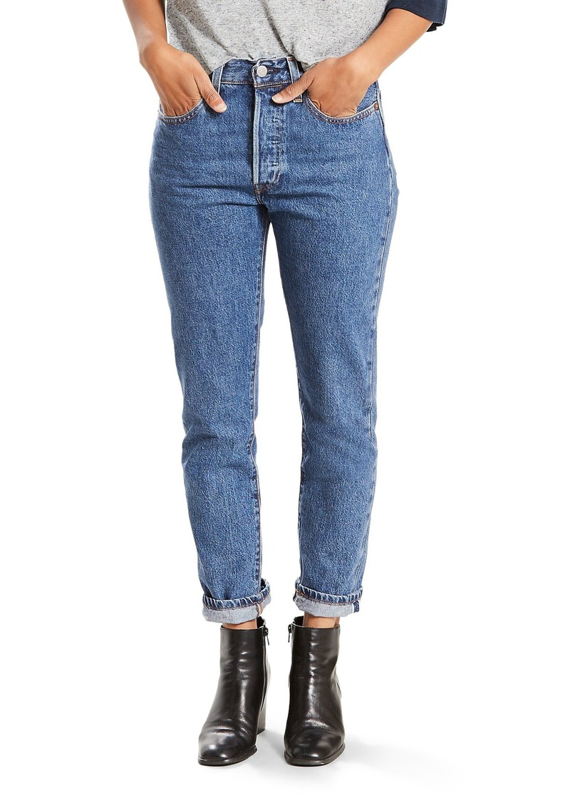 2173516effad7 Levi s Levi s® 501 High Waist Skinny Jeans (Pop Rock)