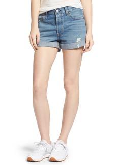 Levi's® 501® Long Denim Shorts (Highways & Biways)