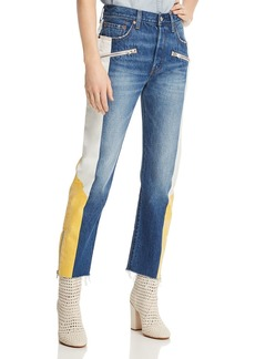 Levi's 501 Moto Straight Jeans in Show Teeth
