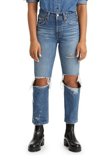 Levi's 501 Original Cropped Jeans in Athens Ranks