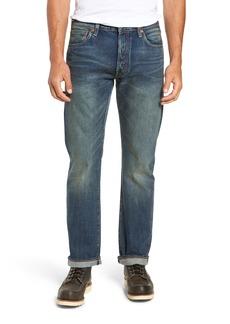 Levi's® 501® Original Straight Leg Selvedge Jeans (Indigo Beauty)