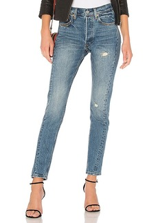 LEVI'S 501 Skinny Altered. - size 24 (also in 25,26,27,28,29,30)