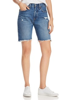 Levi's 501 Slouch Denim Shorts in Drive Me Crazy - 100% Exclusive