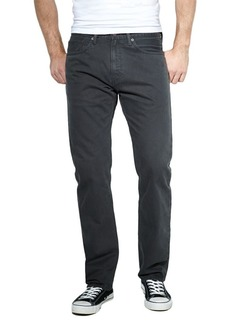 Levi's 505 Regular-Fit Graphite Twill Jeans