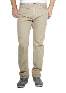 Levi's 505 Regular-Fit Timberwolf Twill Jeans