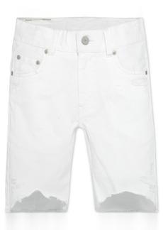 Levi's 511 Destroyed Cotton Denim Shorts, Little Boys