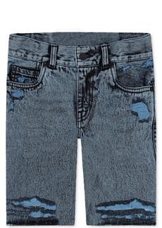 Levi's 511 Distressed Cotton Denim Shorts, Big Boys