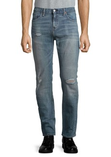 Levi's 511 Slim Fit Distressed Jeans