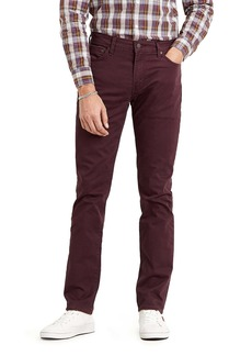 Levi's® 511™ Slim Fit Jeans (Bay Berry Sueded Sateen)