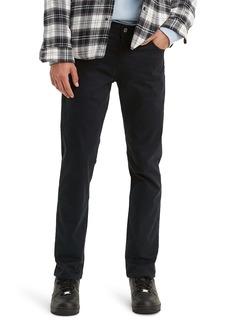 Levi's® 511™ Slim Fit Pants (Mineral Black Sueded Sateen)