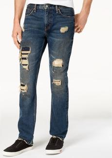 Levi's 511 Slim Fit Rip and Repair Jeans