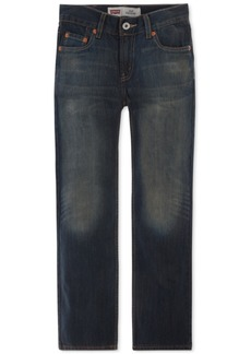 Levi's 514 Straight Fit Jeans, Big Boys Husky