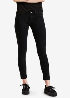 Levi's 535 Striped Super Skinny Jeans