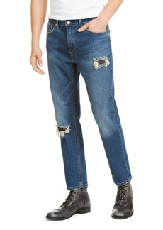 Levi's 541 Men's Athletic Fit All Season Tech Ripped and Repaired Jeans