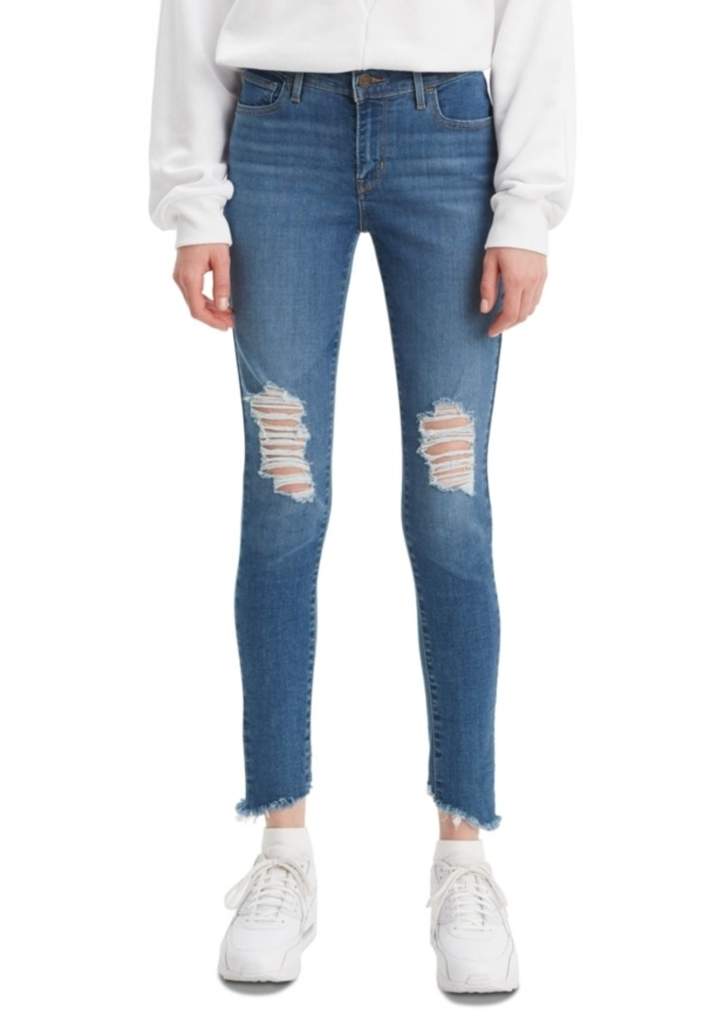 Levi's Women's 710 Distressed Skinny Jeans
