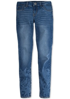 Levi's 710 Super Skinny Bleach-Out Star Jeans, Big Girls