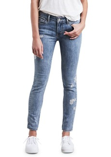 Levi's 711 Embroidered Skinny Jeans
