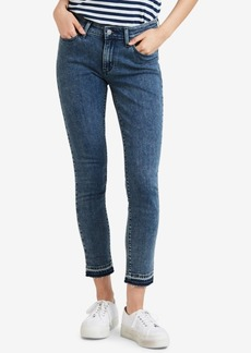 Levi's 711 Skinny Released Hem Jeans