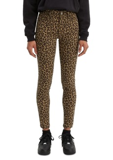 Levi's Women's 720 Animal Printed Super Skinny Jeans