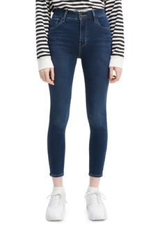 Levi's 720 Cropped Super-Skinny Jeans