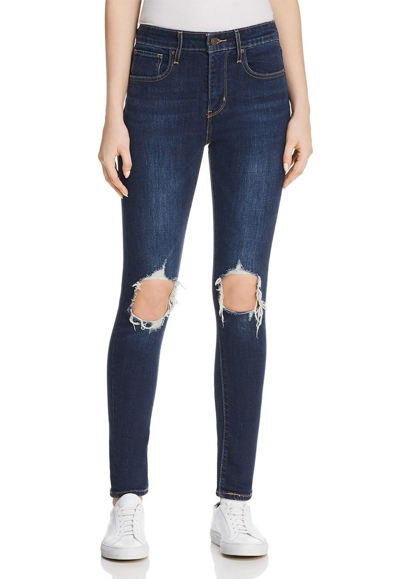 Levi's 721 High Rise Skinny Jeans in Rough Day