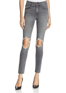 Levi's 721� High Rise Skinny Jeans in Washed Black