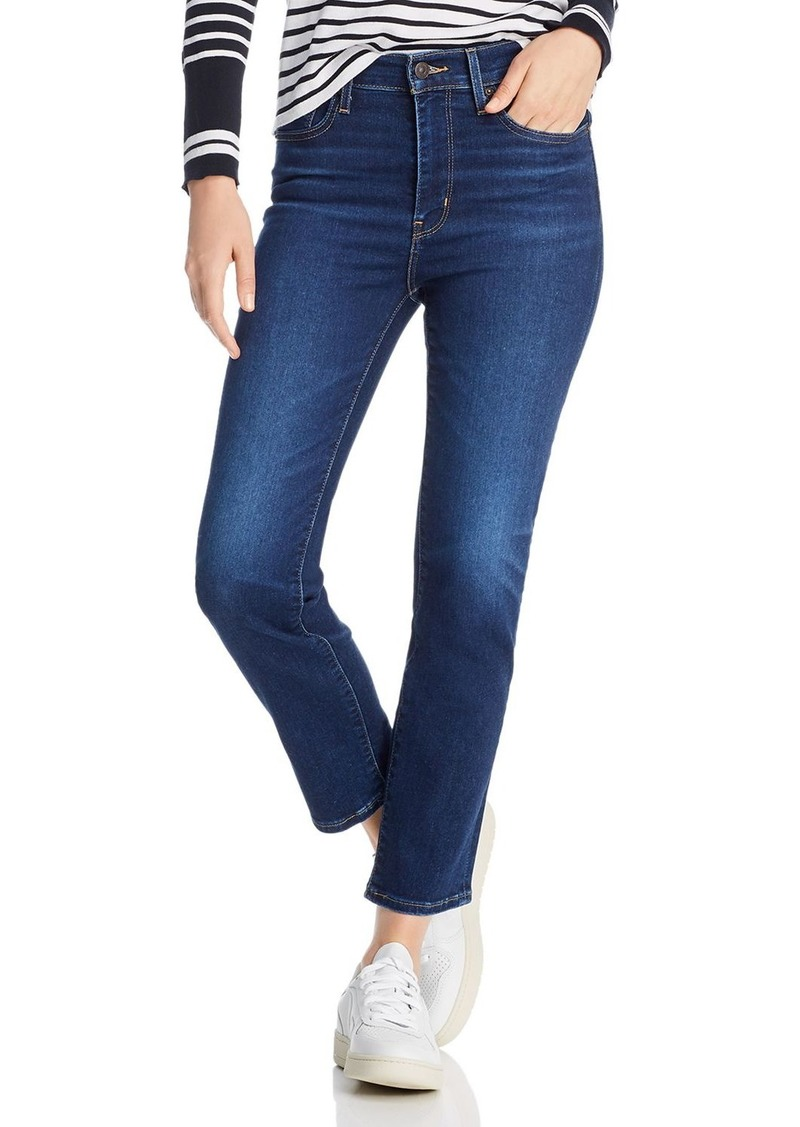 Levi's 724 High-Rise Straight Jeans in London Indigo